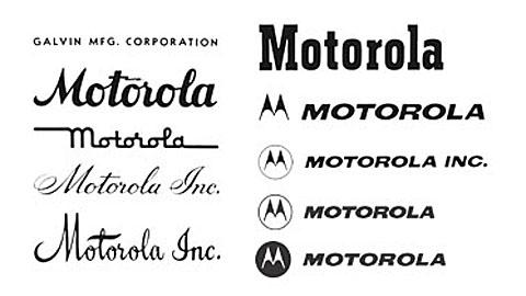 mobilecollectors.net - Logos of Motorola company.